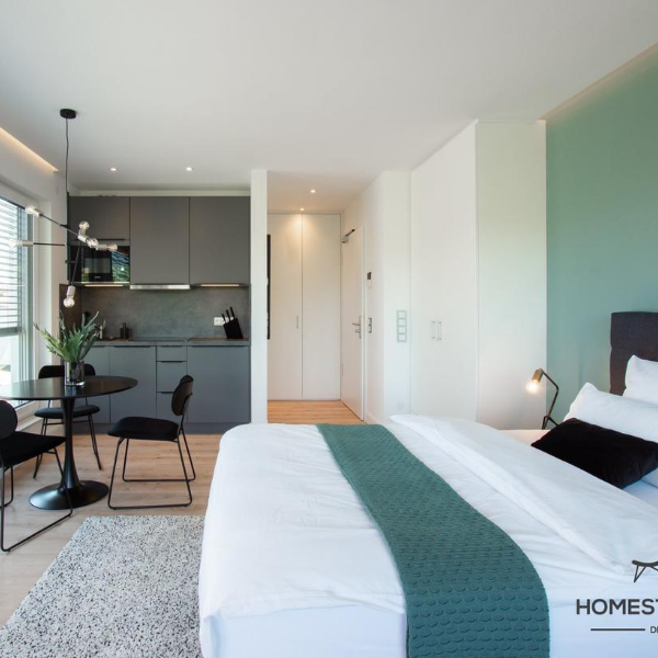 Home Staging Musterwohnung Businessapartments Kelsterbach