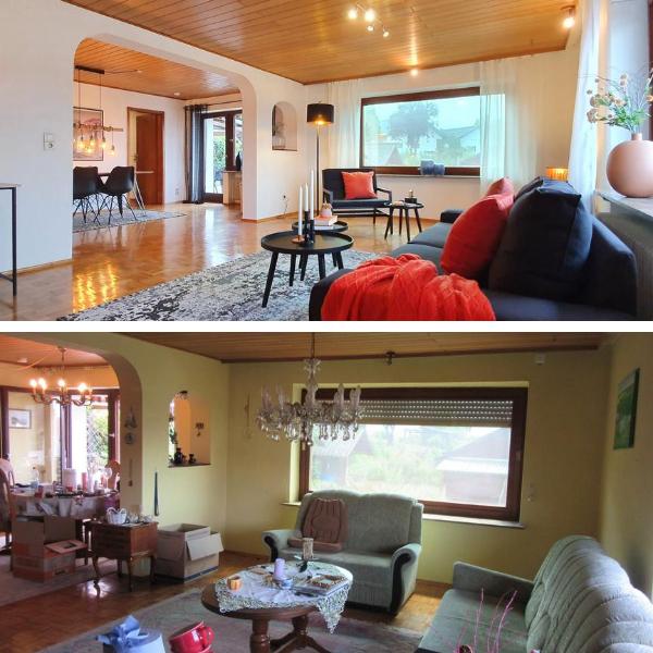 Geerbte Immobilien mit Home Staging für junge Familien attraktiv machen