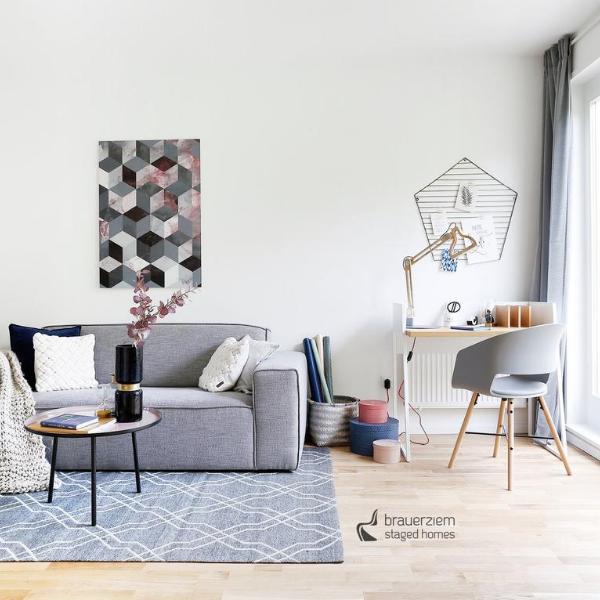 Home Staging 2-Zimmer Wohnung in Berlin-Reinickendorf