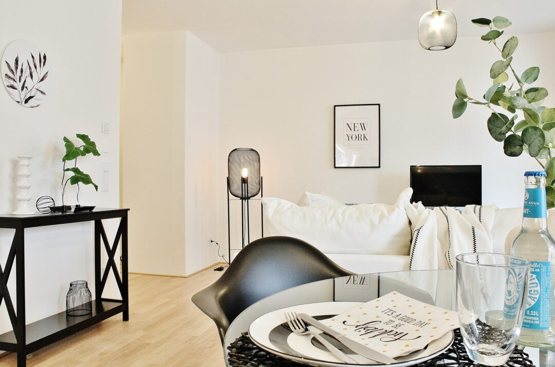 Black and White Home Staging in Wolfsburg