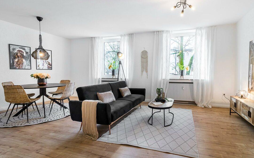3-Zimmer-Wohnung Home Staging in Recklinghausen