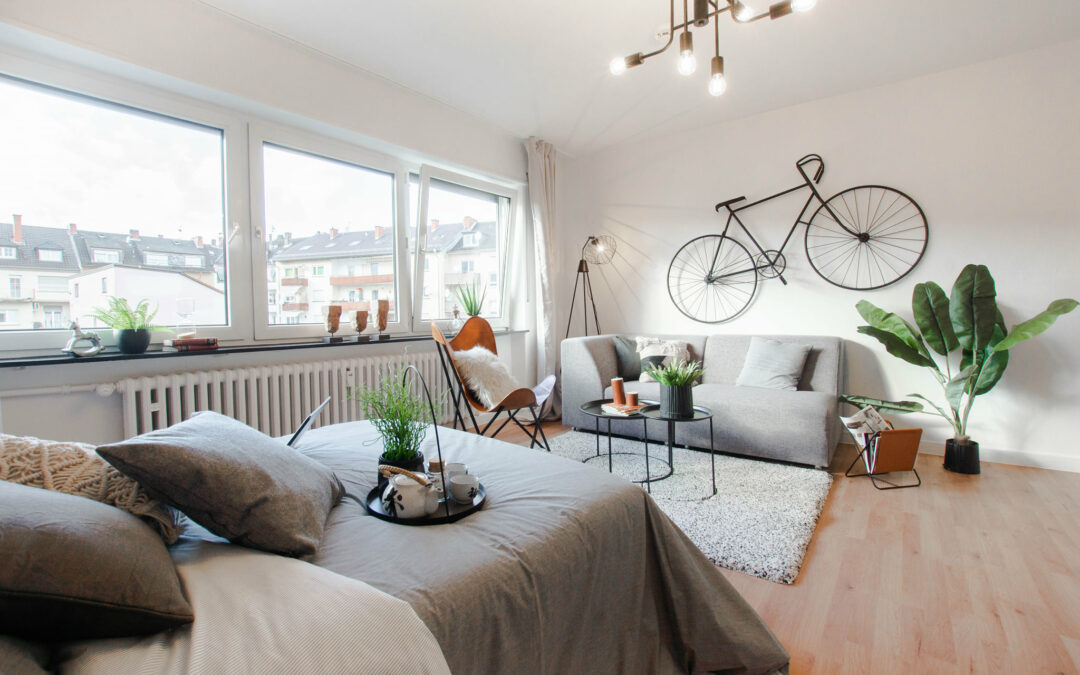 1-Zimmer-Wohnung Home Staging Ludwigshafen