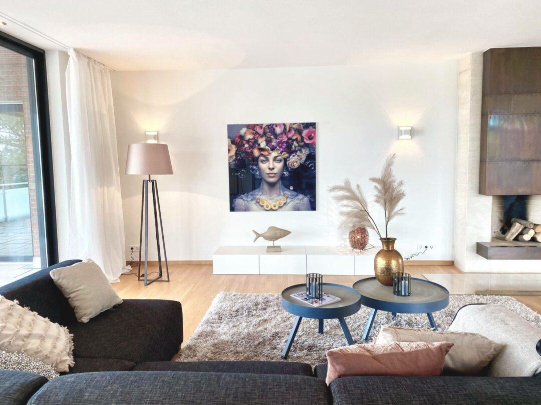 Leere Räume zu Wohlfühlräumen machen mit Home Staging