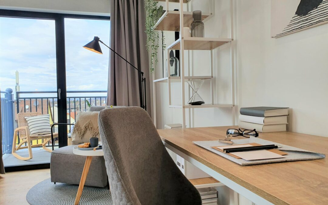 Home Staging Micro-Apartment als Musterwohnung