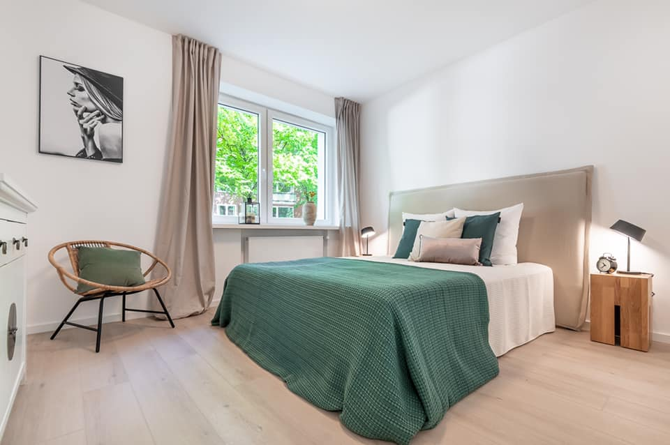 3-Zimmer Wohnung in Hamburg erhält Fix&Flip Home Staging