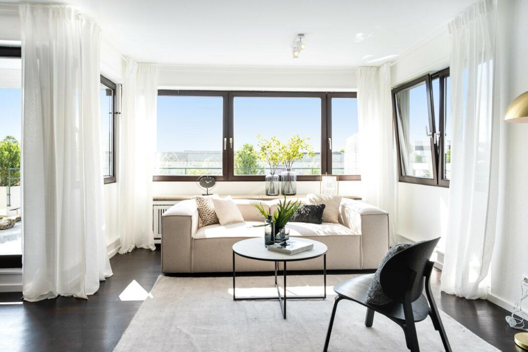 Luxus Wohnung begeistert mit edlem Einrichtungskonzept