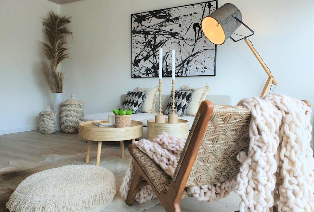White Ibiza Style – Urlaubsfeeling im Dachgeschoß