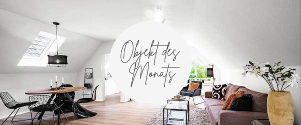 Trotz Höhenunterschied konnte Wohnung mit Home Staging überzeugen!
