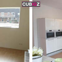 Kitchen before and after png