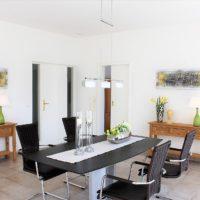 Home Staging Wohn-Esszimmerbereich