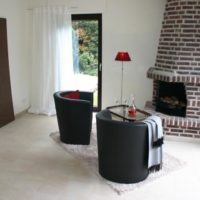 Home Staging Kaminbereich